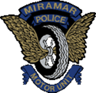 Miramar Police Traffic Motor Unit Emblem