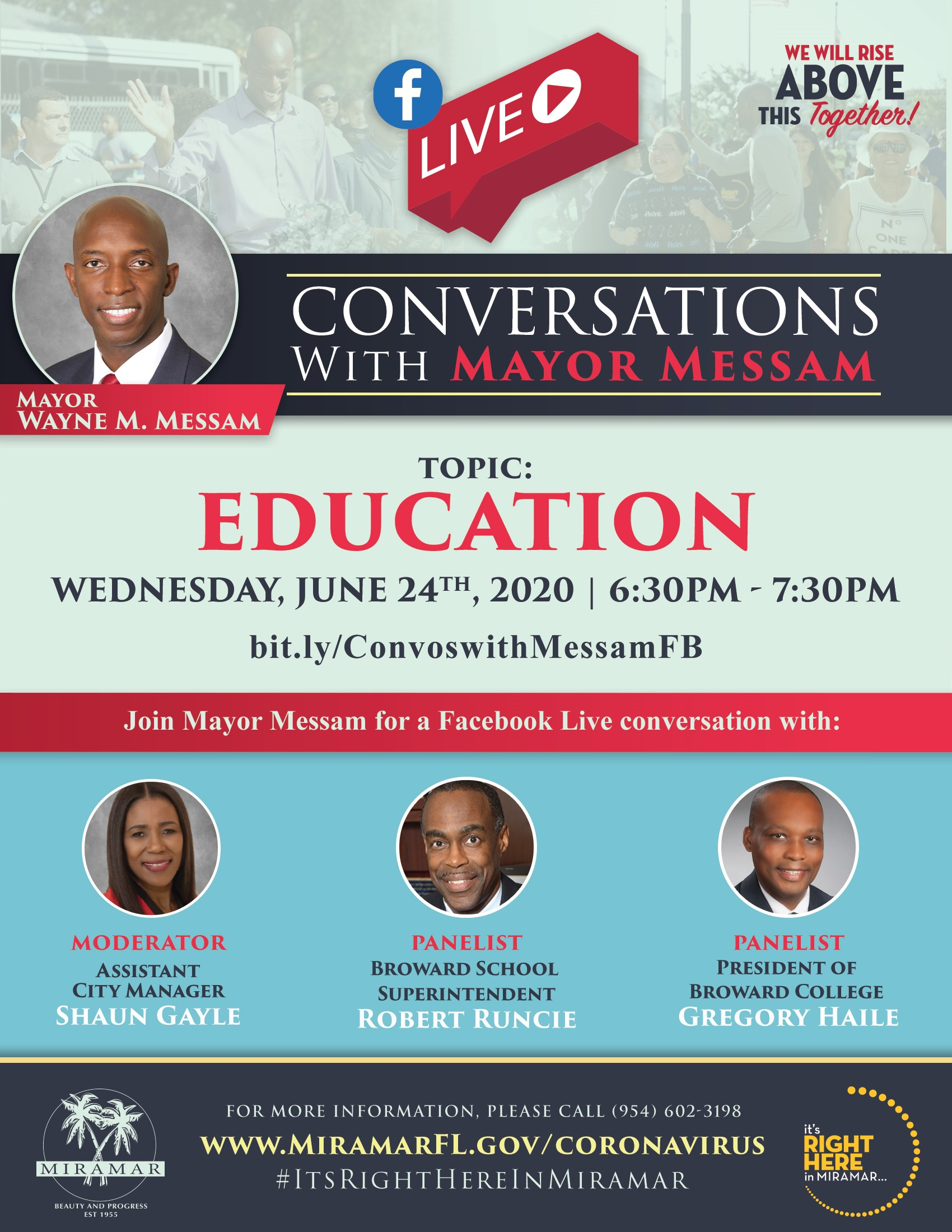 Conversations with Mayor June 24