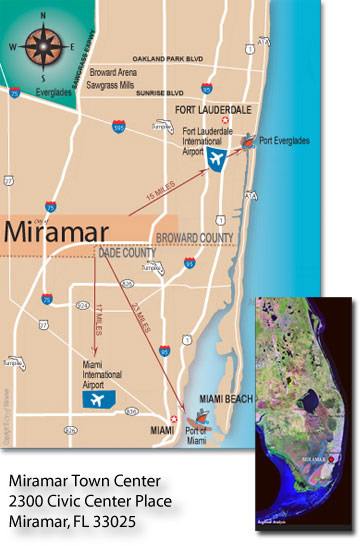 Miramar Map Pop Out with Town Center Address