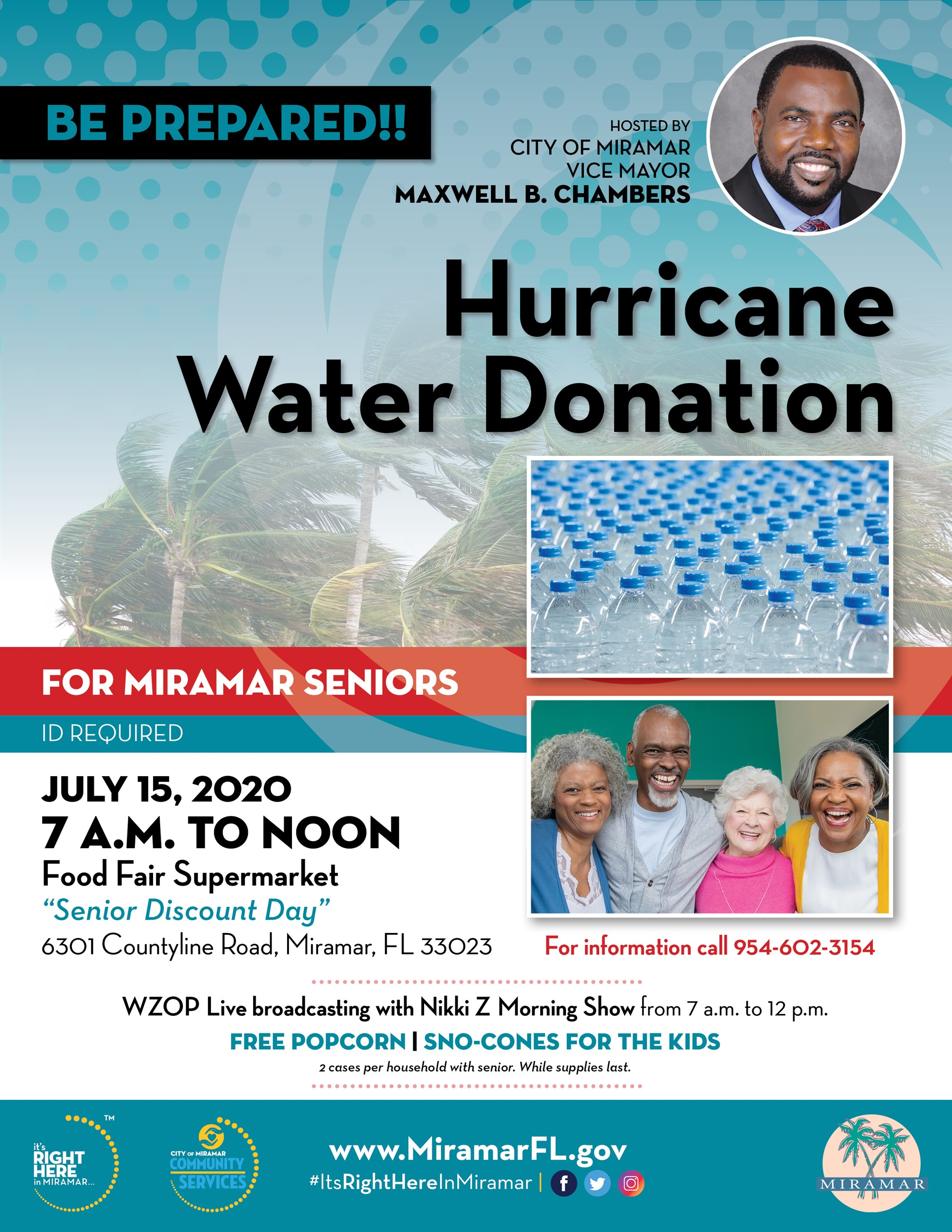 Hurricane Water Giveaway-FLYER