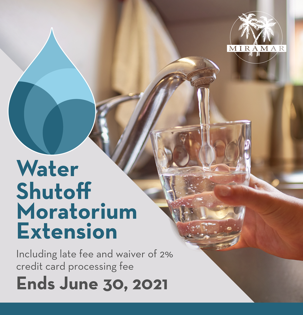 Water Shutoff Moratorium Extension - News