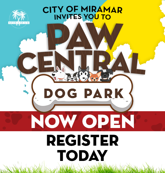 Paw Central Dog Park Home Page Banner