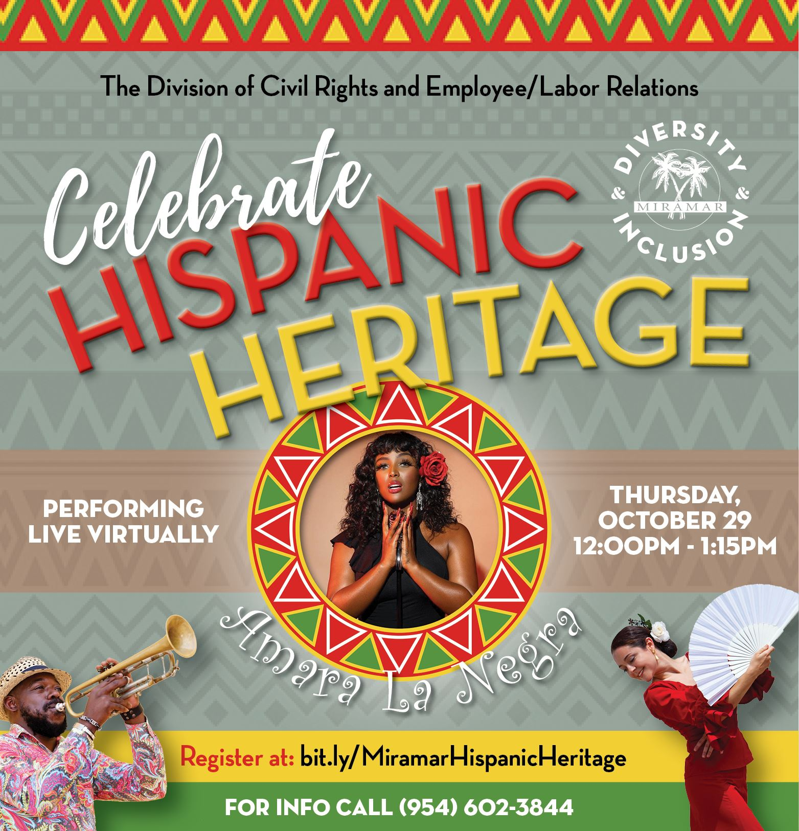 Hispanic Heritage Event Home Page Banner