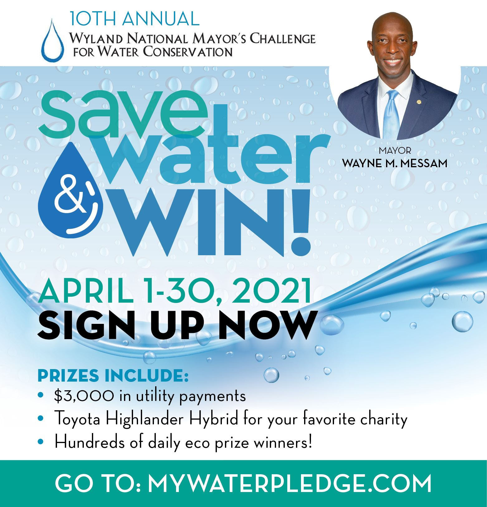Mayor Messam Annual Water Conservation Challenge 2021