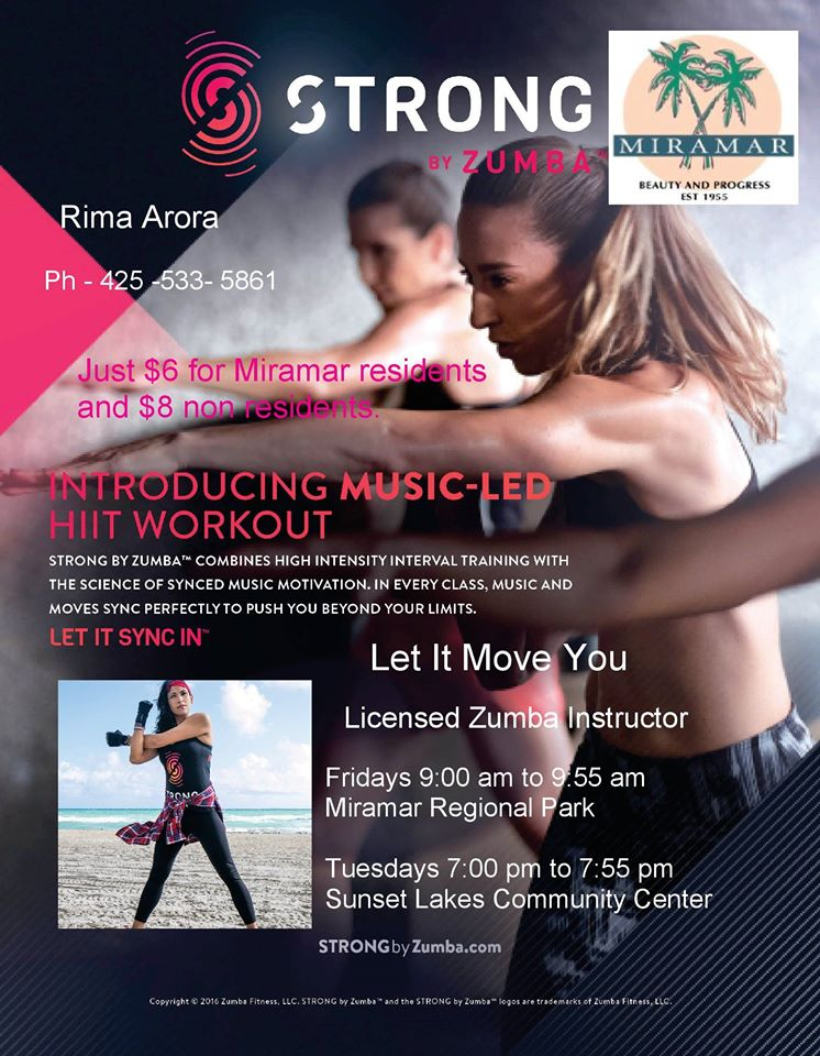 Miramar Strong By Zumba