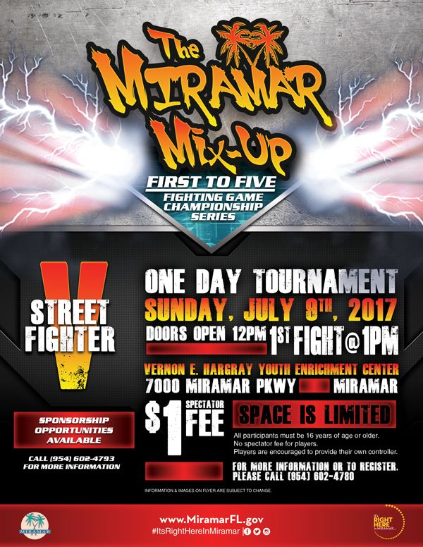 Miramar Mix Up Flyer