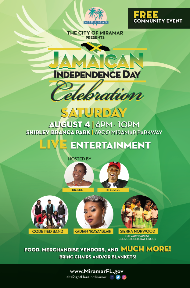 Jamaican Independence Day Flyer